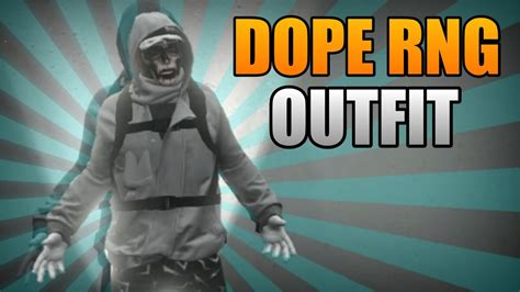GTA 5 Online Dope RnG Outfit Tutorial - YouTube