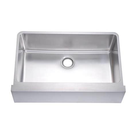 Dawn Daf3320 Undermount Flat Front Apron Kitchen Sink