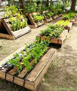 Garden, Boxes, Raised, Design, Ideas, 5