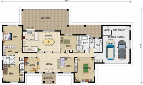 house floor plan ideas best open floor house plans rustic open floor plans