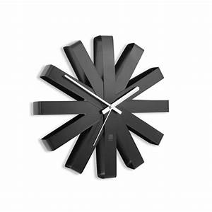 Horloge Murale Moderne : horloge murale moderne ruban artwall and co ~ Teatrodelosmanantiales.com Idées de Décoration