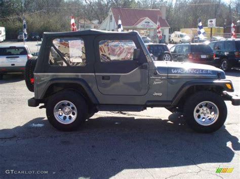 2001 steel blue pearl jeep wrangler sport 4x4 12683937 photo 5 gtcarlot car color