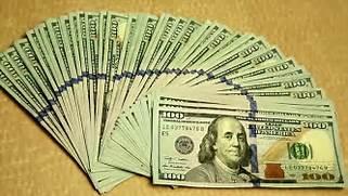 Real 100 Dollar Bills Stacks
