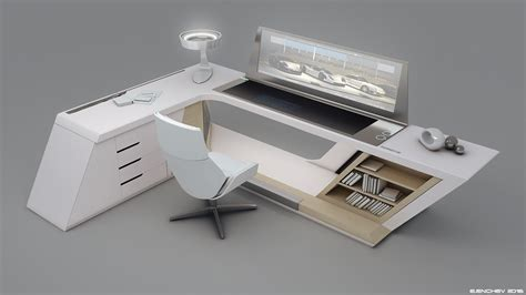 porsche desk v0 2 stylish concept pinterest desks