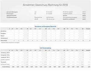 Einnahmen überschuss Rechnung : numbers vorlage einnahmen berschuss rechnung e r 2018 anlage eks arbeitsagentur ~ Themetempest.com Abrechnung