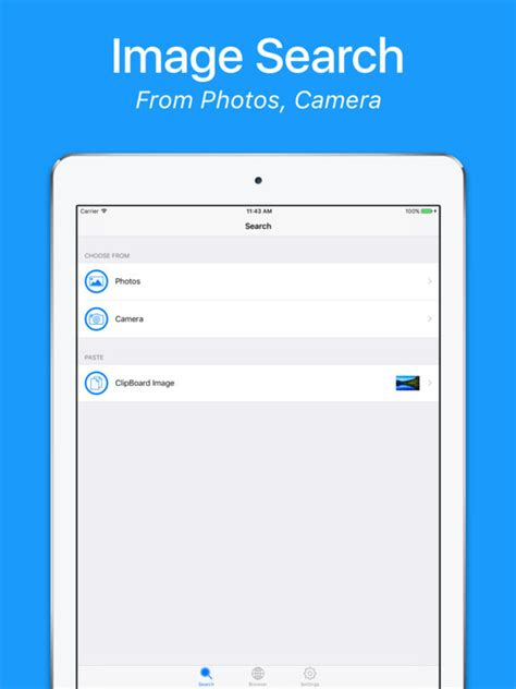 image search from iphone app shopper image search app utilities