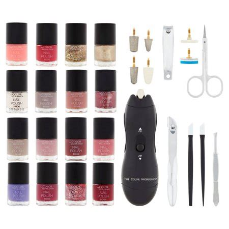 the color workshop nail the color workshop nails collection kit and