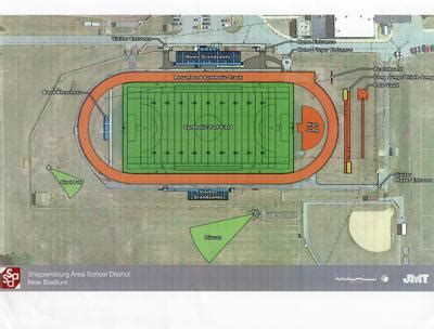 high school stadium expected completion fall local