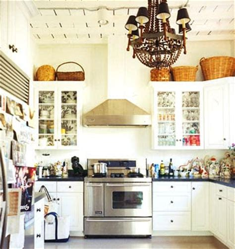 baskets on top of kitchen cabinets sure fit slipcovers decorating above the kitchen cabinets 9078