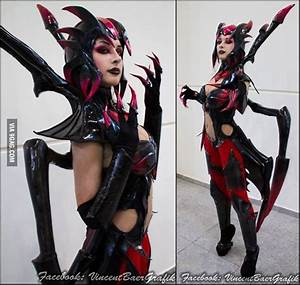 Elise cosplay by Issabel League of Legends - 9GAG