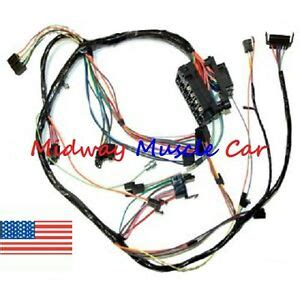 79 Camaro Wiring Harnes by Dash Wiring Harness With Fuse Block 68 69 Chevy Camaro Ebay