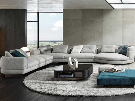 Living Room L Sydney by Minotti Design Complete Collectie Cilo Interieur