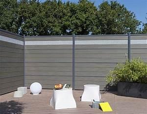 Claustra De Jardin : cloison de jardin en bois composite lame ecran claustra by ~ Premium-room.com Idées de Décoration