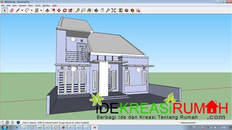 desain eksterior rumah  lantai modern tropis tipe