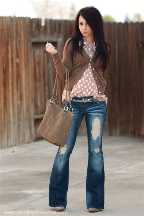 5 Days/5 Outfits with Boot-Cut Jeans!   Creative Side of Me