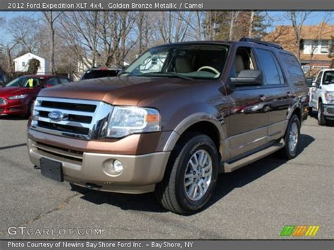 2012 Ford Expedition Xlt golden bronze metallic 2012 ford expedition xlt 4x4