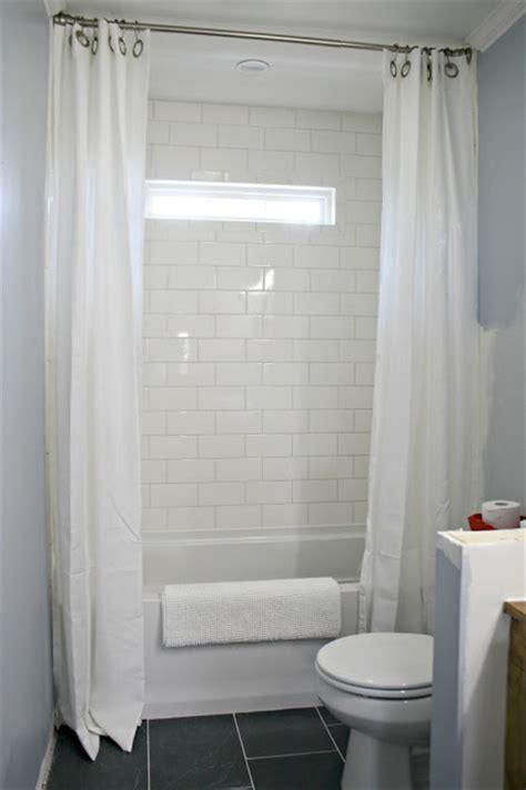 can i use a shower curtain as a window curtain how to hang shower curtains for less from