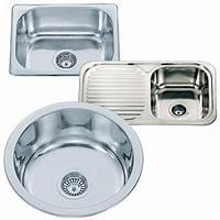 small kitchen sinks Small Top Mount Inset Stainless Steel Kitchen Sinks With ...