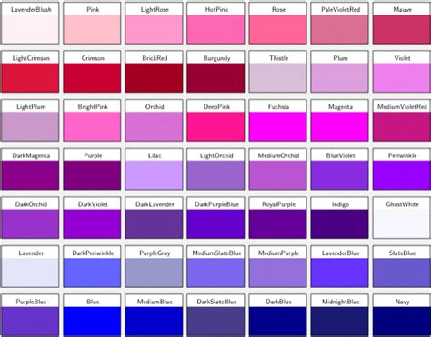 different color purples can t say no to purple
