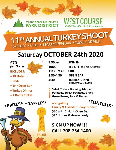 2020 Turkey Shoot ‹ Chicago Heights Park District