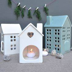 make these cute candle lanterns using clay perfect to With what kind of paint to use on kitchen cabinets for pottery candle holder