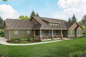 Ranch House Plans - Brightheart 10-610 - Associated Designs
