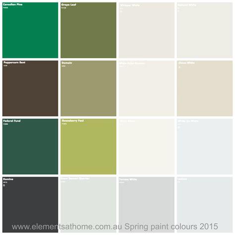 dulux spring paint colours