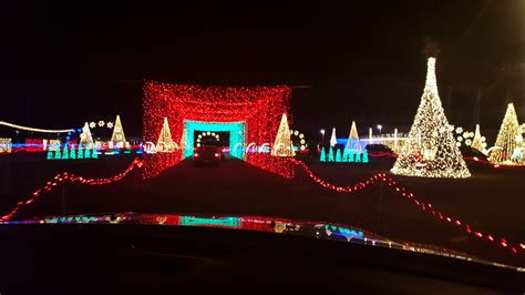 brag worthy christmas christmas in color drive through lights now open in utah giveaway 5