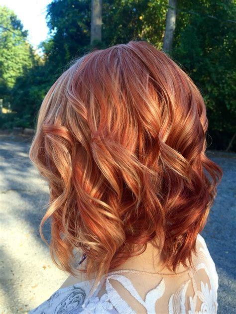 ideas  red highlights hair  pinterest