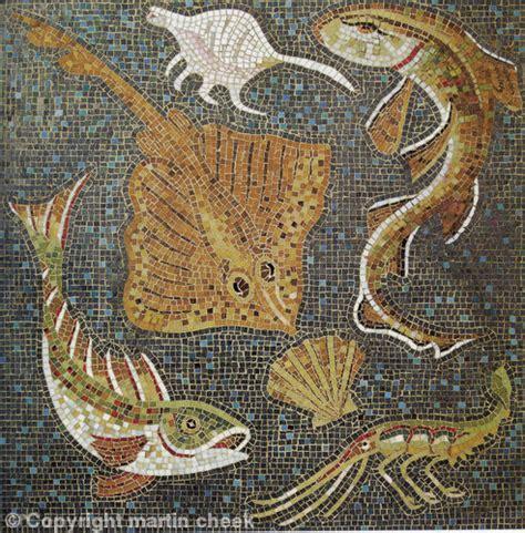 cuisine romaine antique a mosaic trivet part ii mosaic designs and materials
