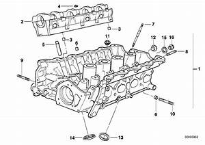 Bmw 318i Cylinder Head With Bearing Ledges  Engine