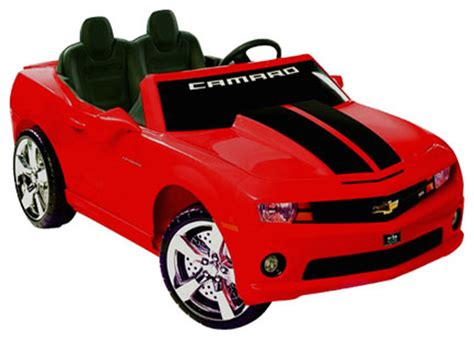 kid play car kids 39 chevrolet camaro play vehicle red contemporary