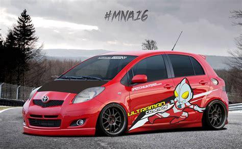 67 modifikasi mobil yaris 2011 terlengkap modif