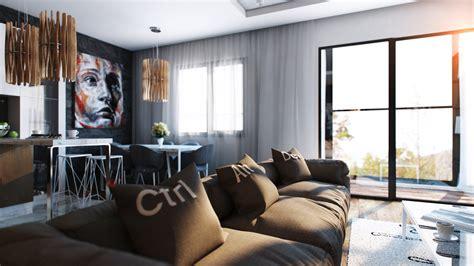 cool apartment ideas cool artsy apartment interior design ideas