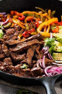 Our Favorite Steak Fajitas Marinade [+ Video] - Oh Sweet Basil