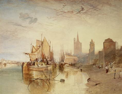 Luminous Jmw Turner Paintings In Fresh Context At The Frick