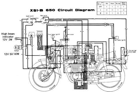 xj 600 wiring diagram wiring