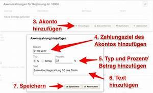 Rechnung Schweiz Lieferung Deutschland : akonto rechnung abschlagszahlungen erstellen ~ Themetempest.com Abrechnung