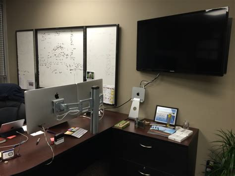 Bretford Mobilepro Desk Mount by Mac Setups The Vp Of Projects Office