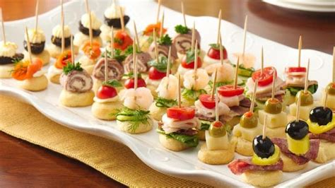 easy canapes and nibbles 4 ingredient appetizers from pillsbury com