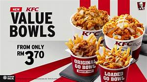 New KFC Value Bowls - YouTube