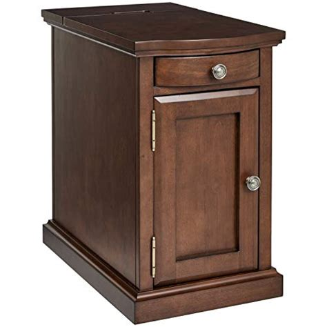 Table With Cabinet And Drawer by Cast Harriet Wood End Table With Drawer Cabinet