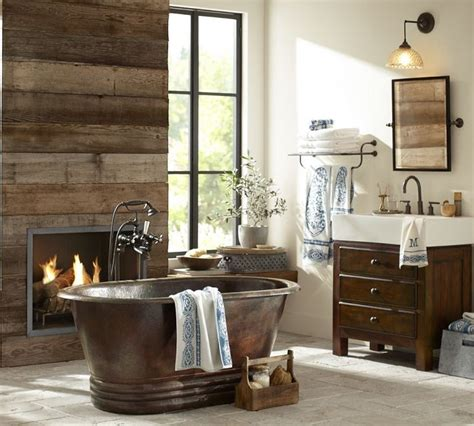Rustic Bathrooms Designs by 44 Rustic Barn Bathroom Design Ideas Digsdigs