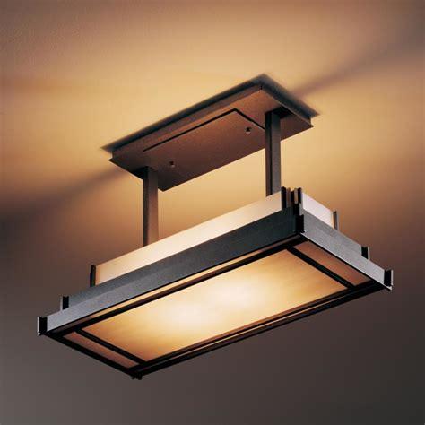 steppe rectangle drop semi flush ceiling mount modern