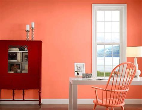 valspar amber rose peach paint color this is not a