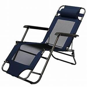 Chaise Longue Pliante : chaise longue pliable pour camping et jardin transat ~ Melissatoandfro.com Idées de Décoration