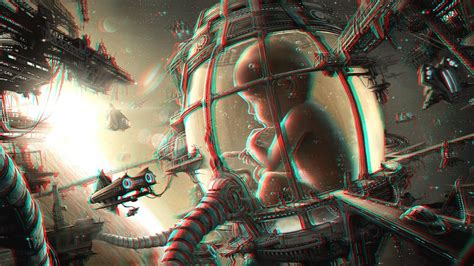 Cool Cat With Glasses Wallpaper Anaglyph Abduzeedo