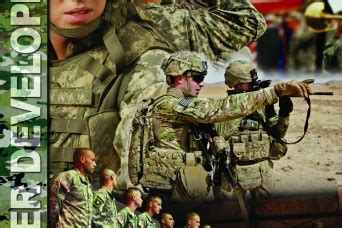 army publishes  doctrine  leader development