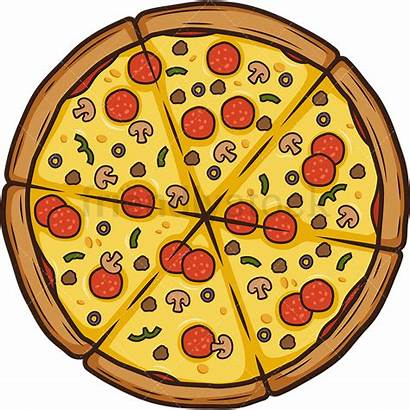 Pizza Special Cartoon Clipart Delivery Addu Friendlystock