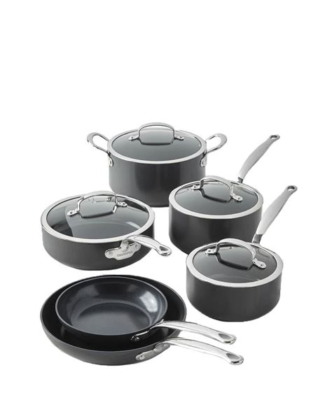 ceramic cookware greenpan pans sets kitchen nonstick piece pots rated cooking experts according revolution gh aluminum
